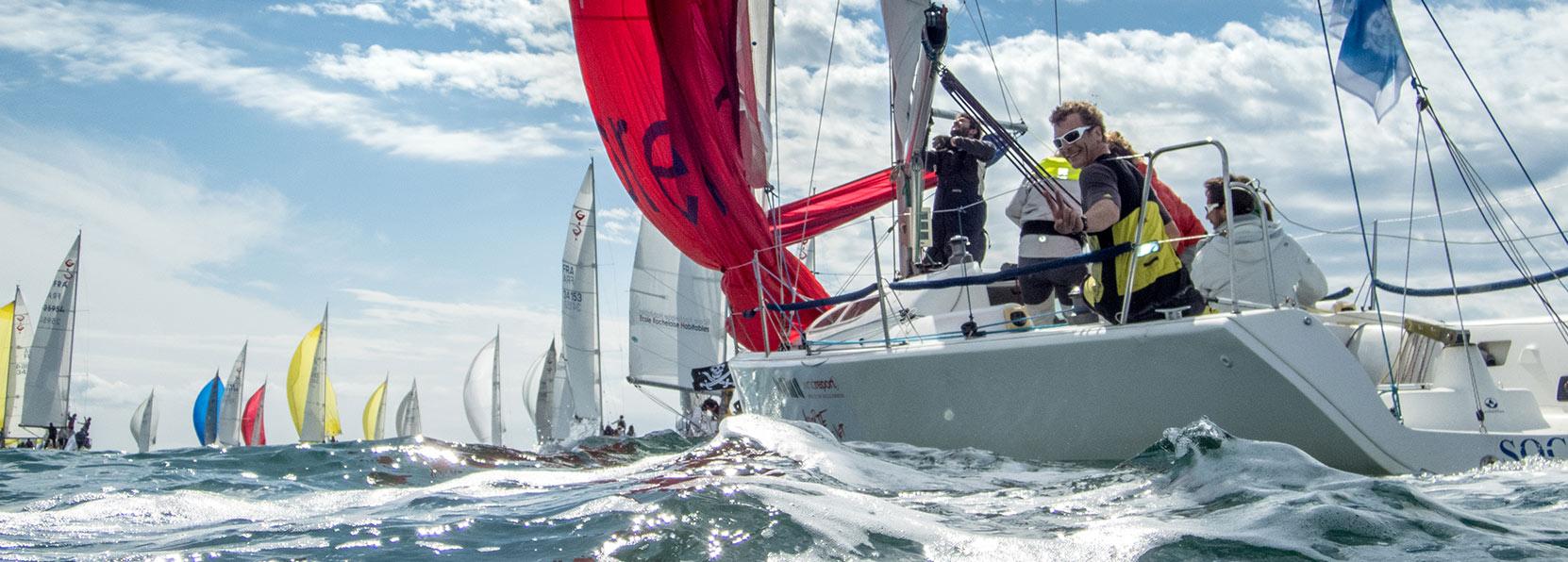 Team building voile en course avec Nicolas Boidevezi