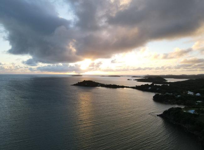 2020-12-11 Martinique cote atlantique drone mavic air2 Nicolas Boidevezi sunset