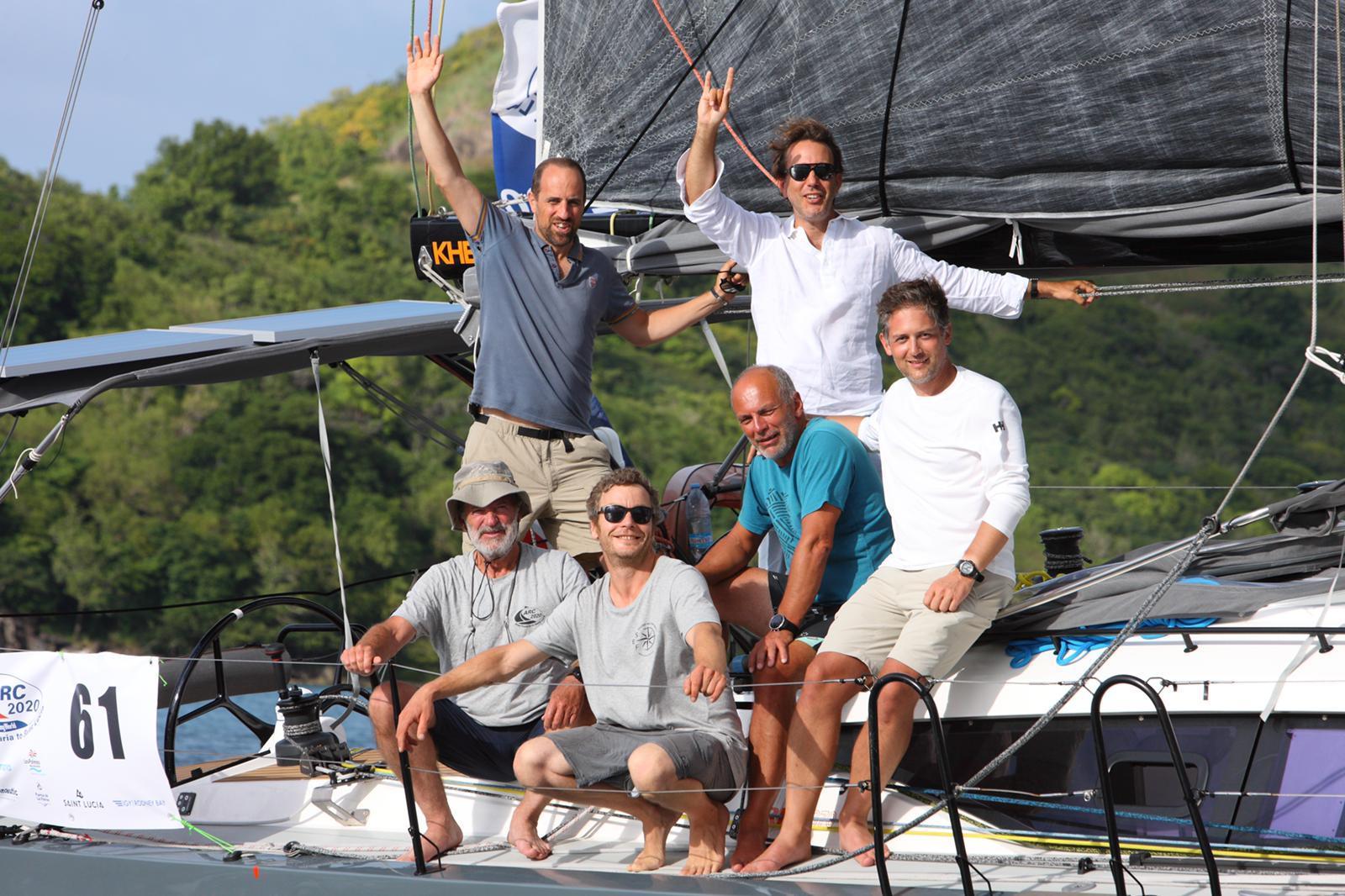 2020-12-10 Transatlantique en course en equipage sur l'ARC avec le skipper Nicolas Boidevezi